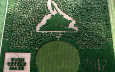 2012 Corn Maze
