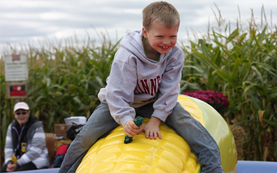 Corn Riding at the Twin Cities Harvest Festival