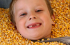 Toddler in the Corn Pit